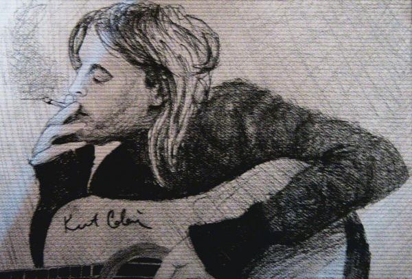 Kurt Cobain by Slash